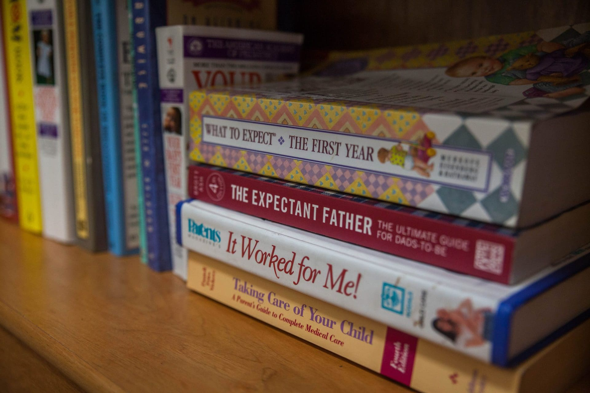 Books about pregnancy and parenting